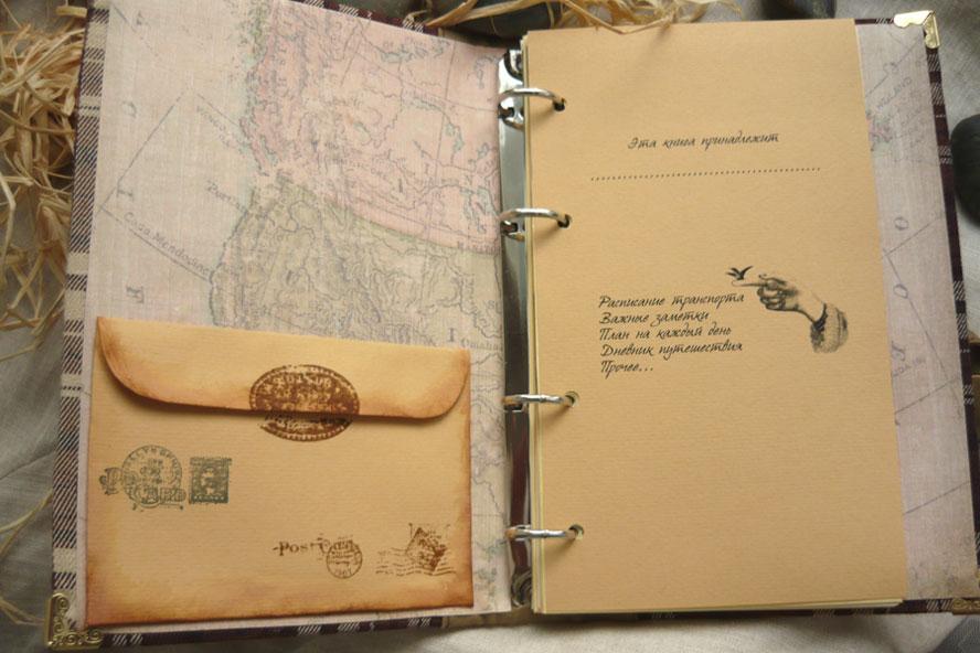 Блокнот для путешественника своими руками 497