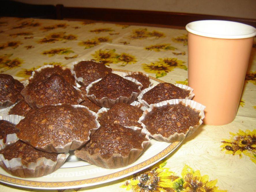 Кексы с корицей и сметаной