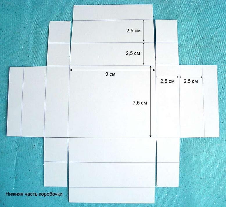 Как сделать крышку из картона для коробочки