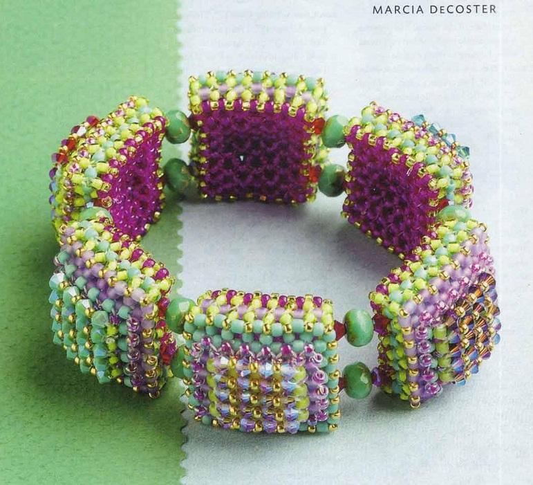 Как делать браслеты из бисера с именем (2013) .