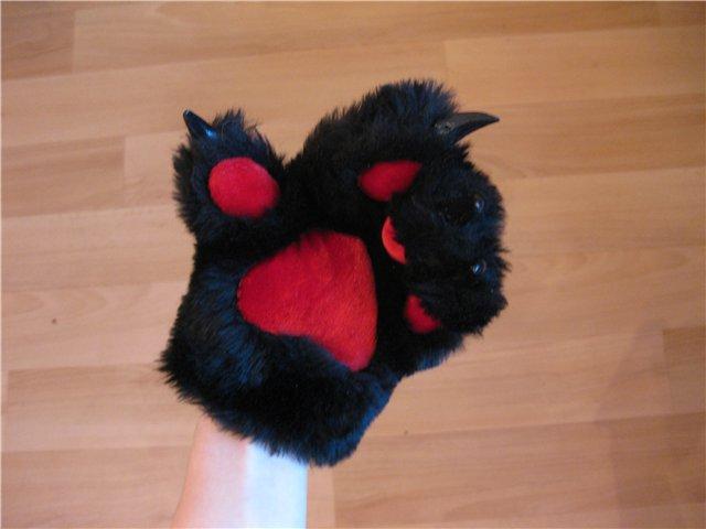 Лапки для кошки своими руками 179