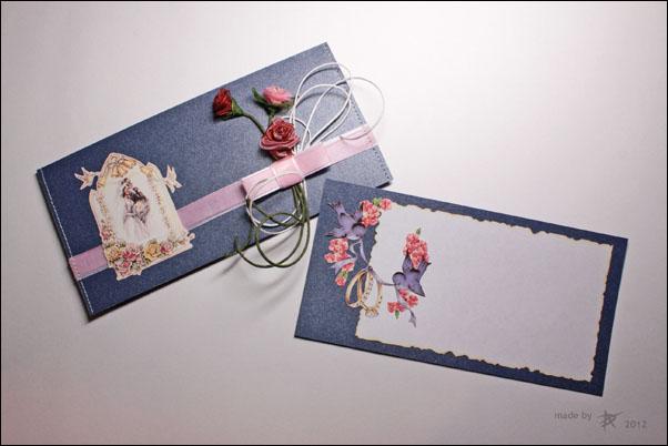 Как сделать открытку с конвертиками для пожеланий 98