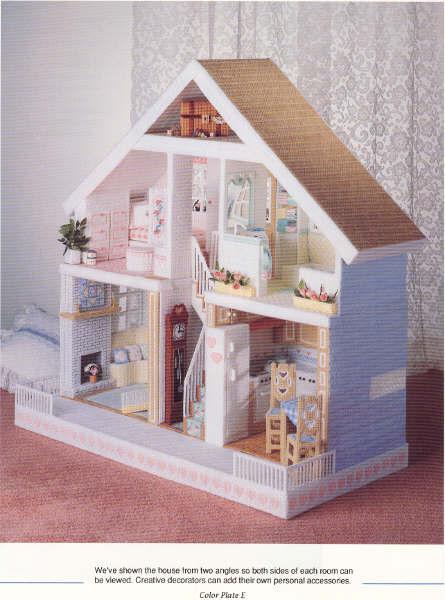Смотреть как сделать домик для кукол своими руками