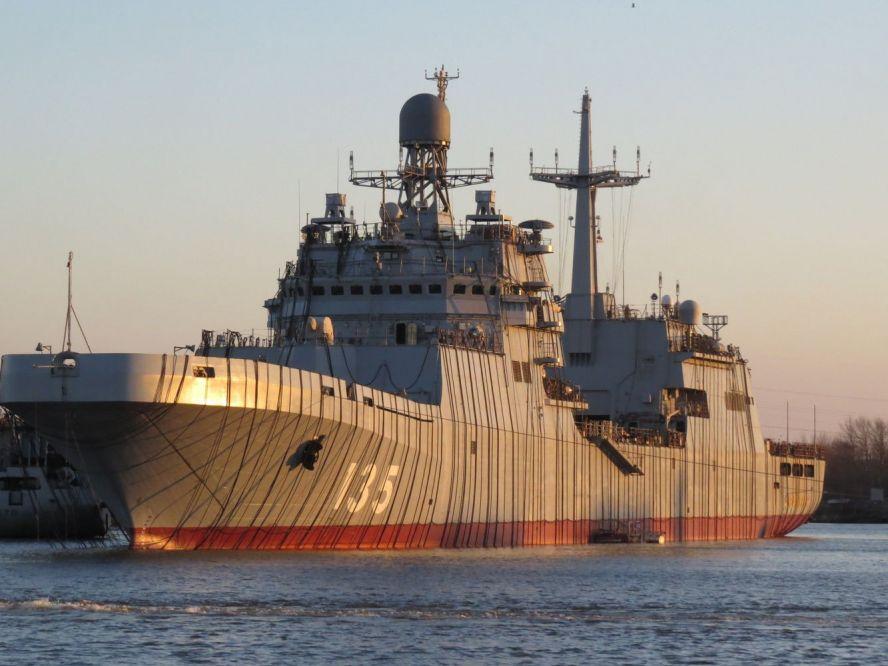 Корабль «Иван Грен» готовится пополнить ряды ВМФ России
