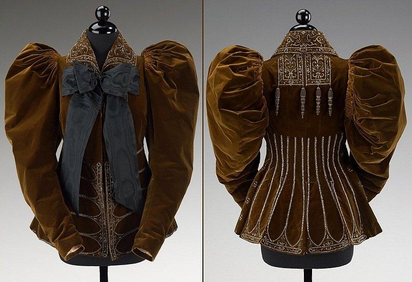 Женская Зимняя Одежда 19 Века