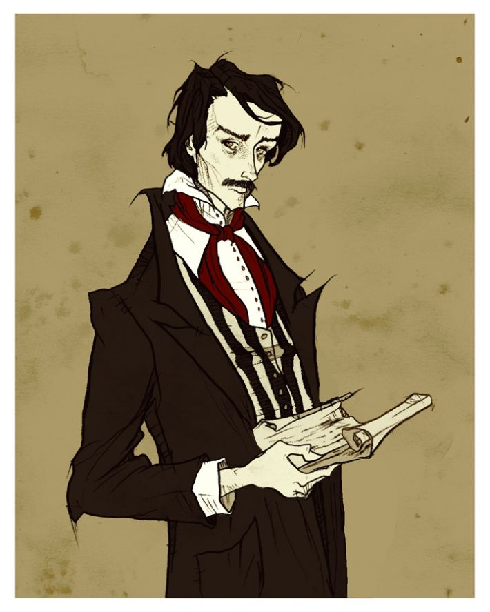 the gothic style in edgar allan poes works