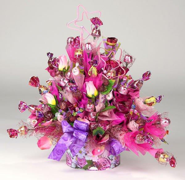 Букет цветов своими руками на день рождения