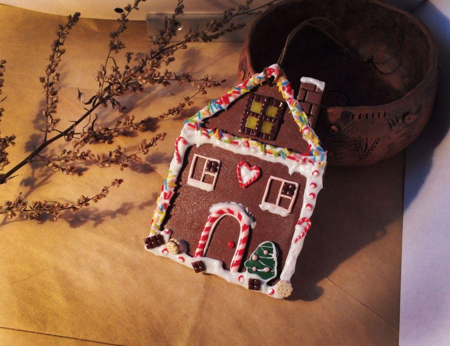 Пряничный домик из полимерной глины - МАСТЕРСКАЯ Жизни