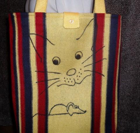 Вязаная сумка, размером 37см. ширина, длина 42+донышко.
