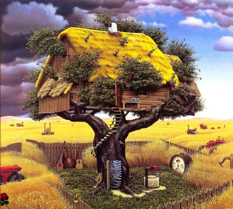 удивительный мир созданный на земле благодаря разуму человека рисунки фотографии, например