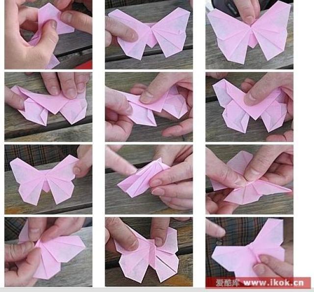 Бабочки своими руками из бумаги красивые