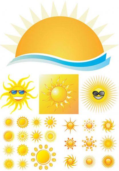 солнце клипарт:
