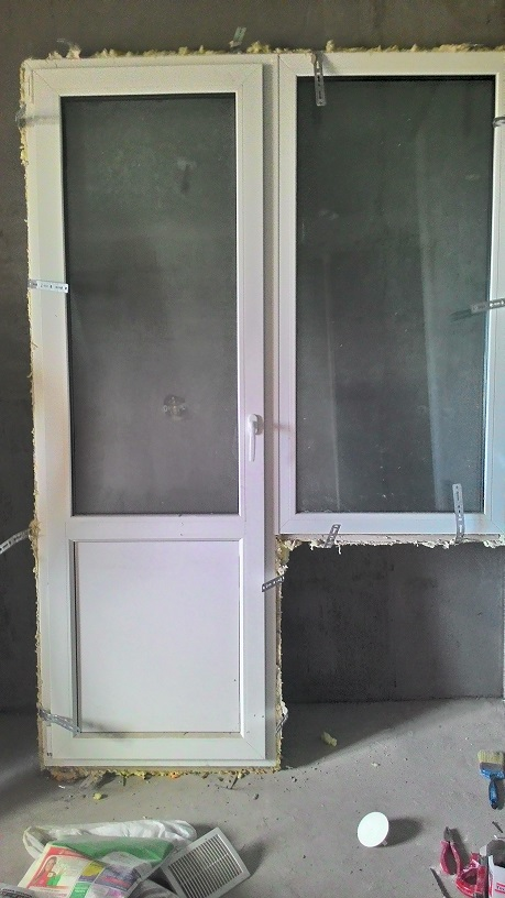 Отдам даром блок стеклопакетный балконная дверь+окно в 2/3 д.