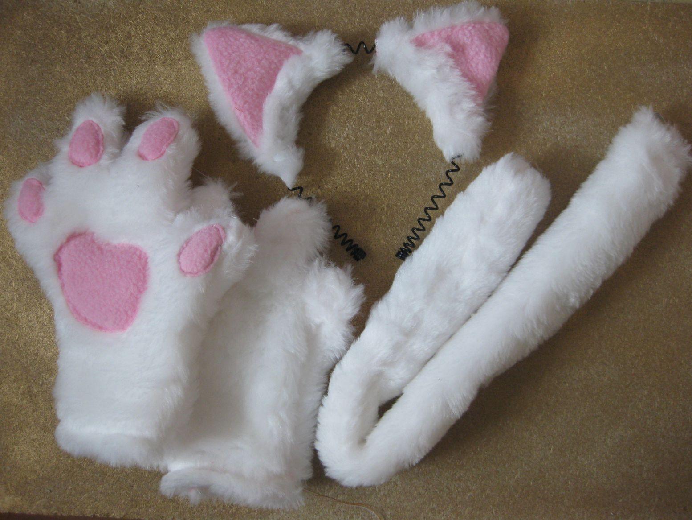 Кошачьи хвостики своими руками