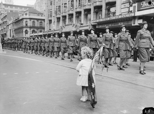Members of the Australian Women's Army Service (AWAS)