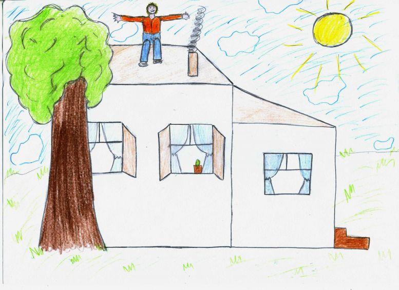 Расшифровка рисунка дом в психологии