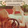 Icons Contents Community