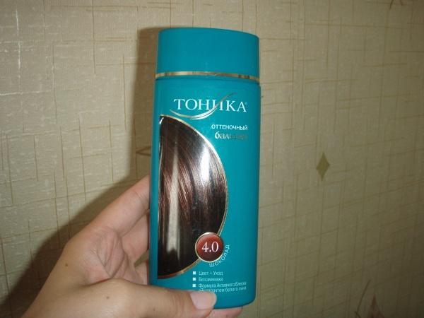 Тоника на неокрашенные волосы