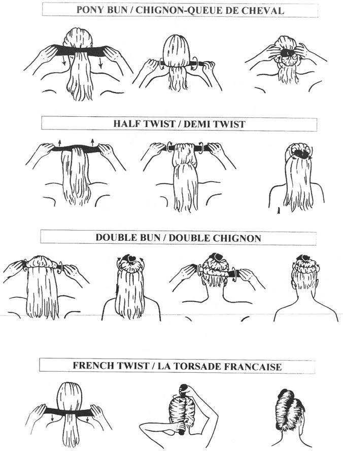 как завязывать твистер на волосах