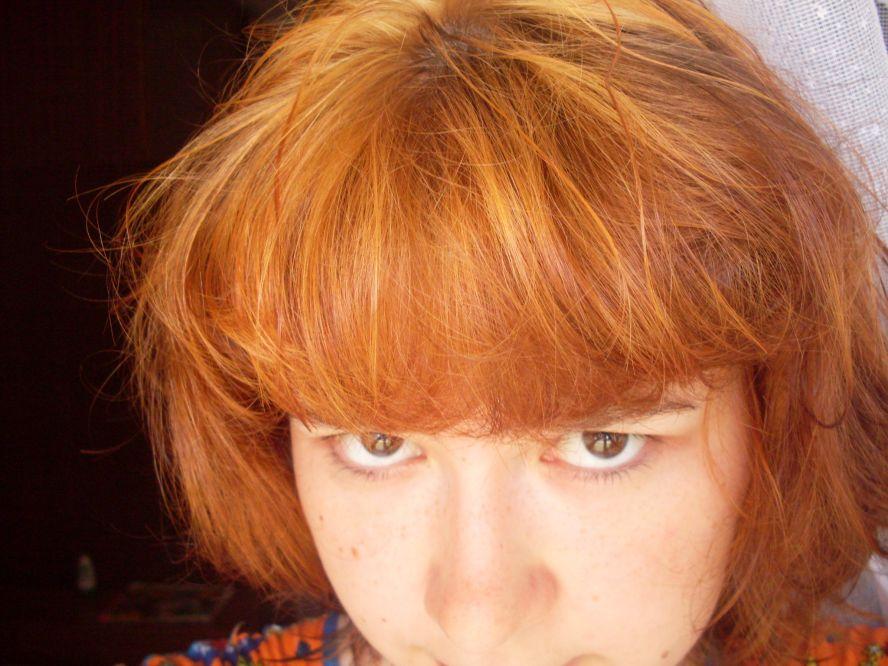 Хна на русые волосы