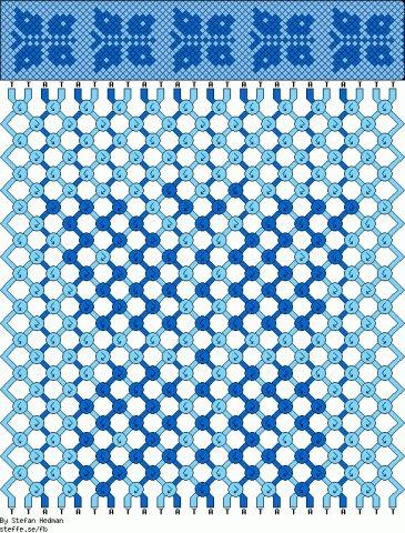 Схемы для плетения фенечек - Делаем фенечки своими руками.