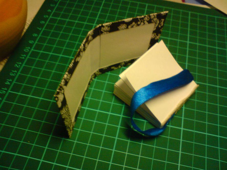 Как сделать блокнотик из бумаги видео