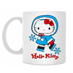 кружка hello kitty