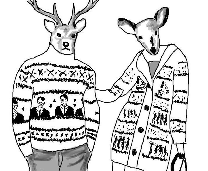 Список ретвитнувших :: свитер с оленями. треск