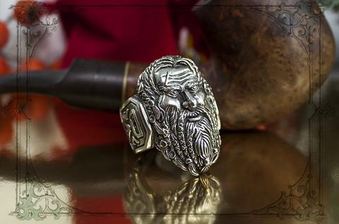 массивный мужской перстень ярл история викингов