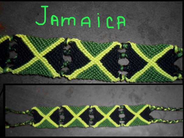 Ищу схемку флага Ямайки и