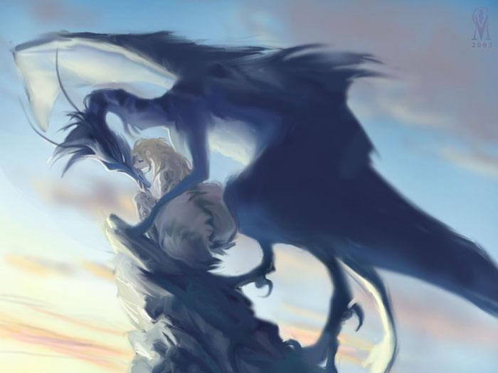 Рисунки красивых драконов рисунки
