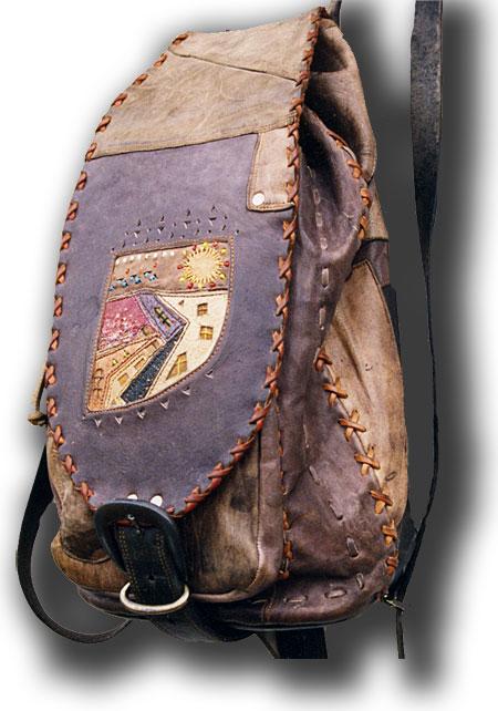 Рюкзак кожаный своими руками