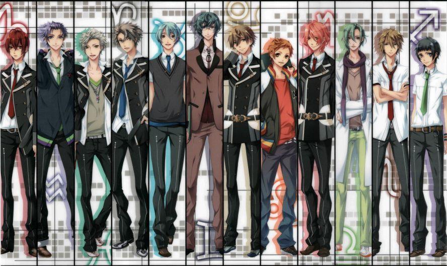 аниме картинки красивые мальчики: