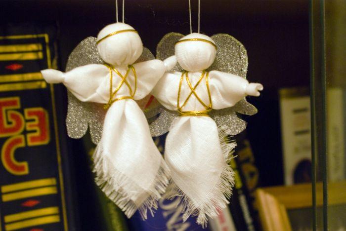 Ангелочек елку своими руками фото