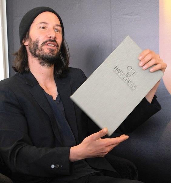 киану ривз его книга