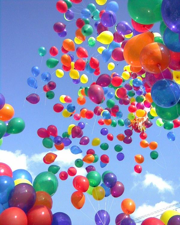 Веселье с воздушными шариками на