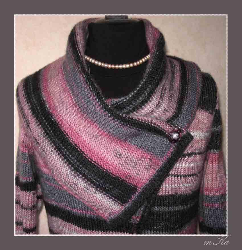 Вязание воротников для пуловеров 979