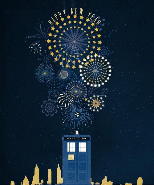 Поздравления с новым годом доктор кто
