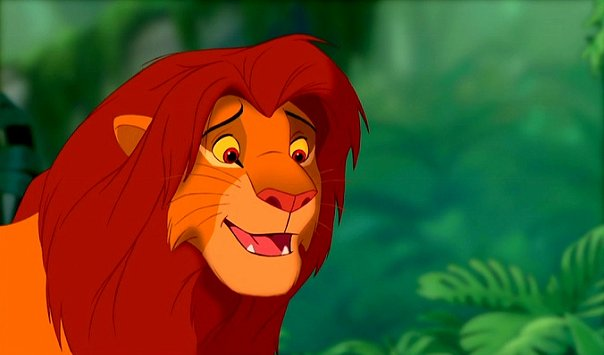 the character of simba in the disney movie the lion king