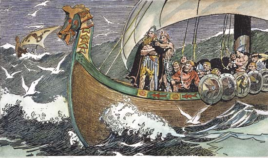 a discussion on seafaring which is a cornerstone of viking culture