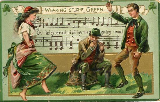 Поздравление с днем рождения по ирландски