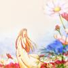 Белый цветочек на горе Ци Шунь