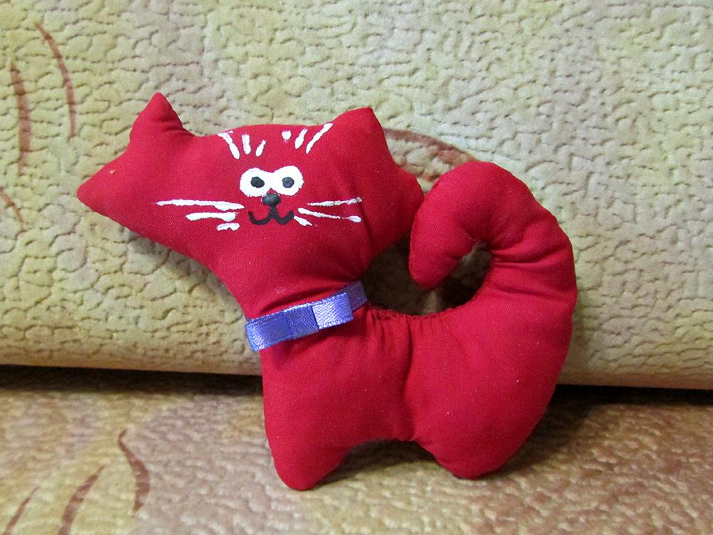 Кот сшитый своими руками 97