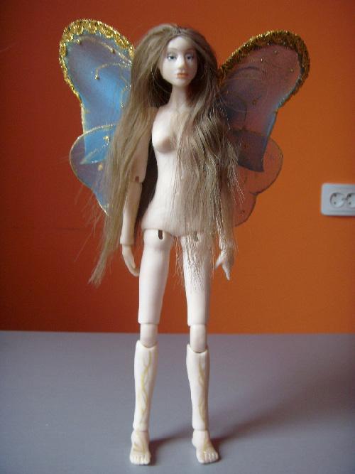 Шарнирная кукла из пластика для начинающих