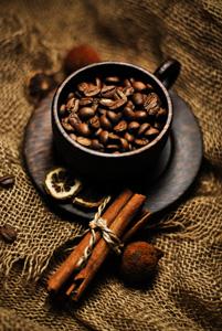 cinnamon coffee.
