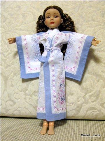 Как сделать халатик для куклы - Voliomas.ru