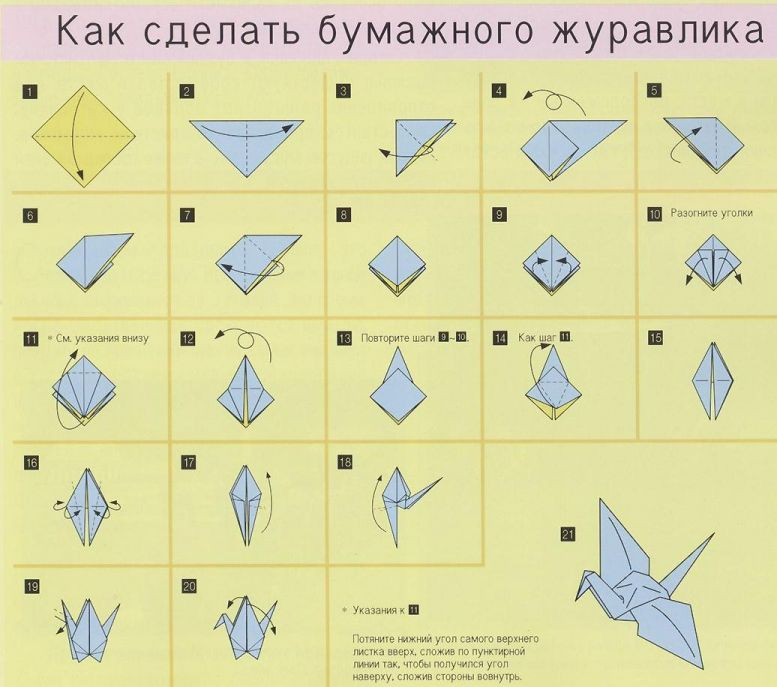 How to make a shark origami.