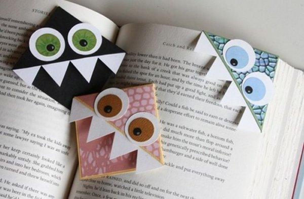 Закладка-уголок — Оригами и