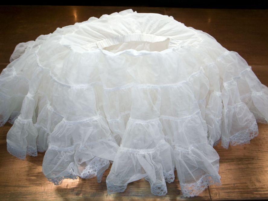 Как сшить многослойную юбку из органзы 24