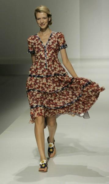 Платья и блузки в винтажном стиле от Anthropologie (Фото.